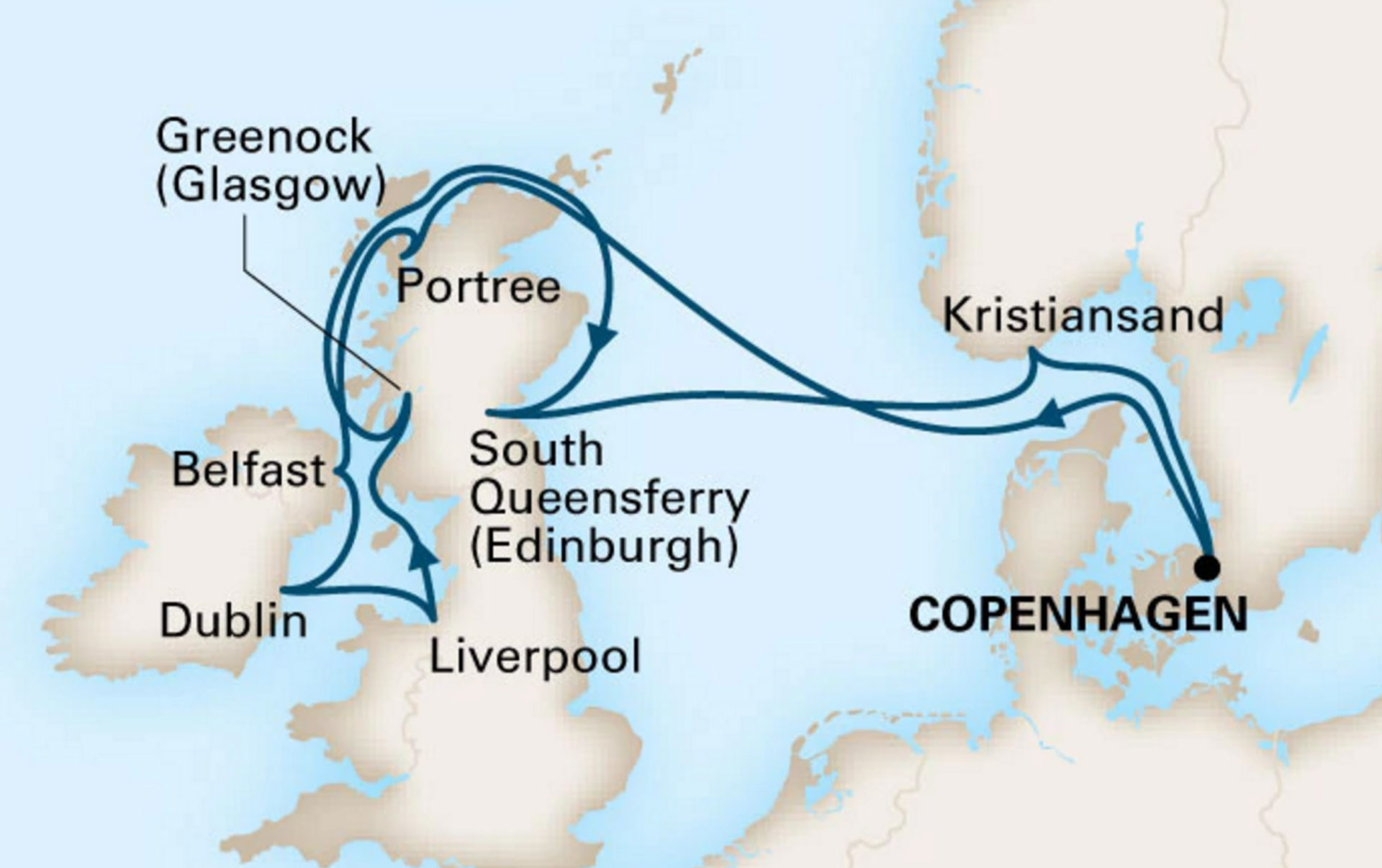 Join Pete And Judy On Their Celtic Adventure Aboard The Ms Zuiderdam