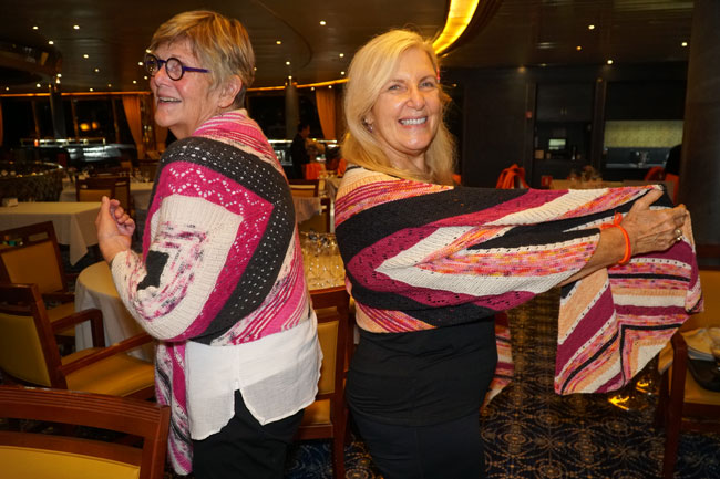 Peggy-and-Judy-model-their-shawls.jpg
